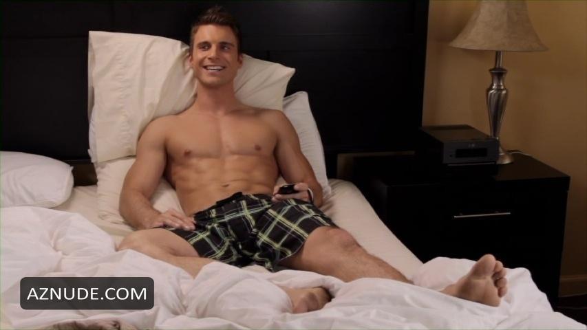 Aaron Milo nude ass and gay group sex scene 9