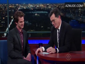 ANDREW GARFIELD in THE LATE SHOW WITH STEPHEN COLBERT(2015 - )