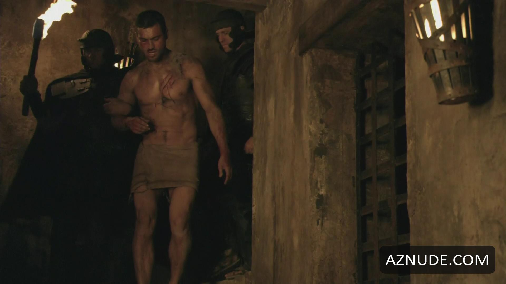 Spartacus andy whitfield frontal