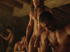 In Spartacus Men Naked