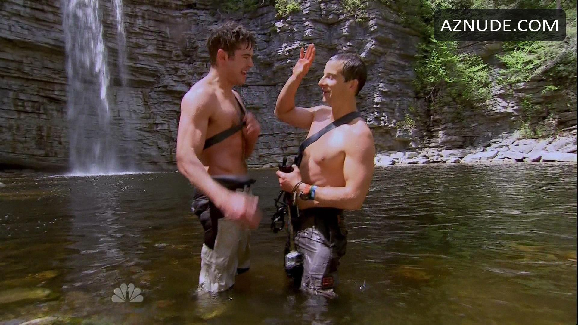 Are Bear grylls naked fakes
