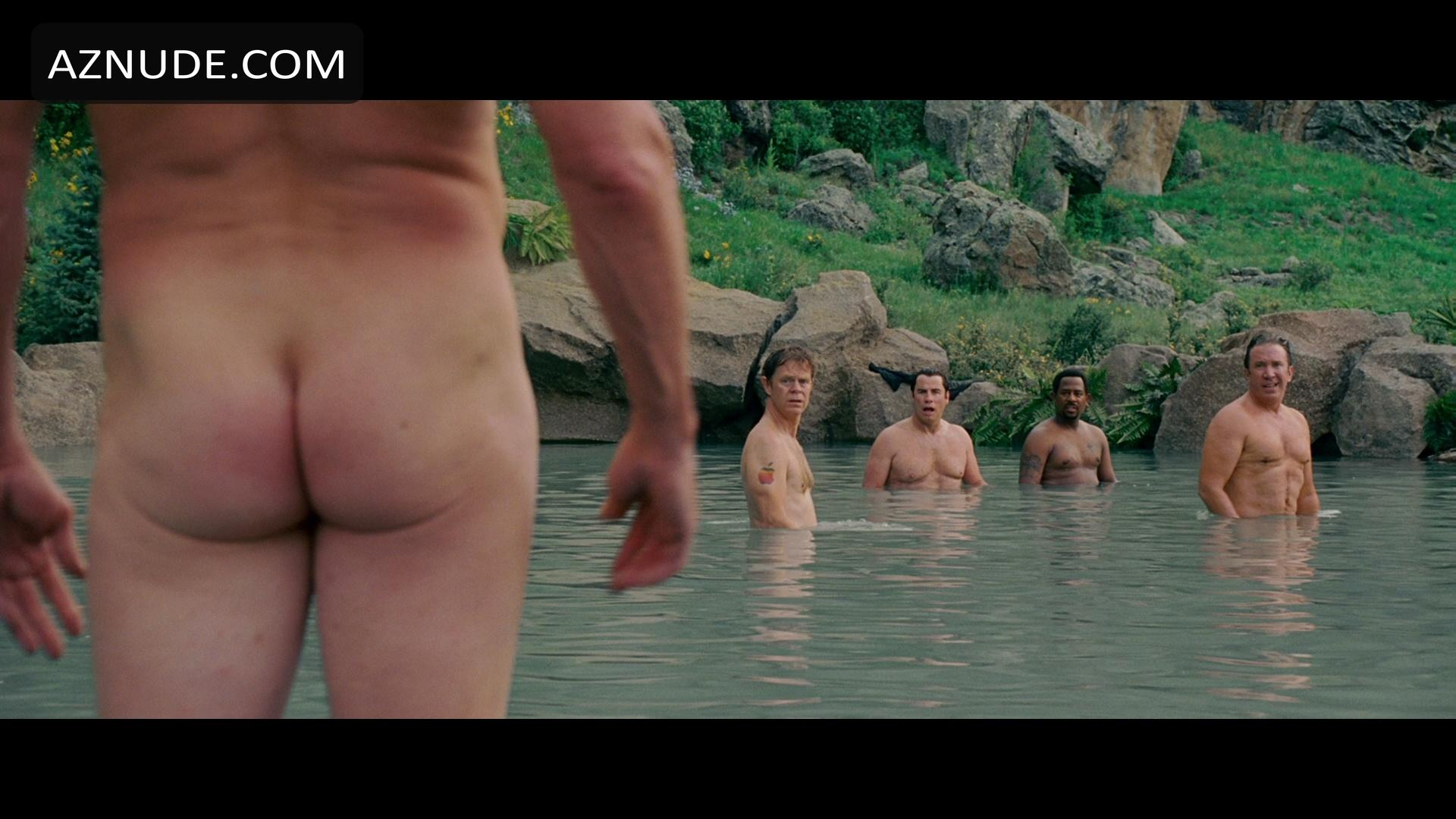 nudity in wild hogs