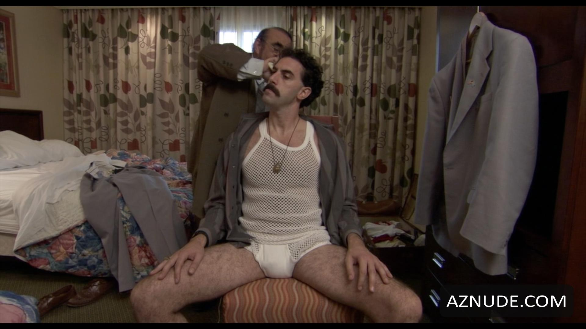 Uncensored borat nude scene