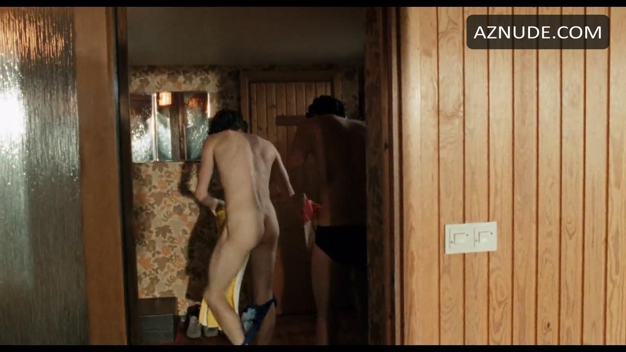 Za modrimi nebesnimi goli prizori - moški Aznude-2353