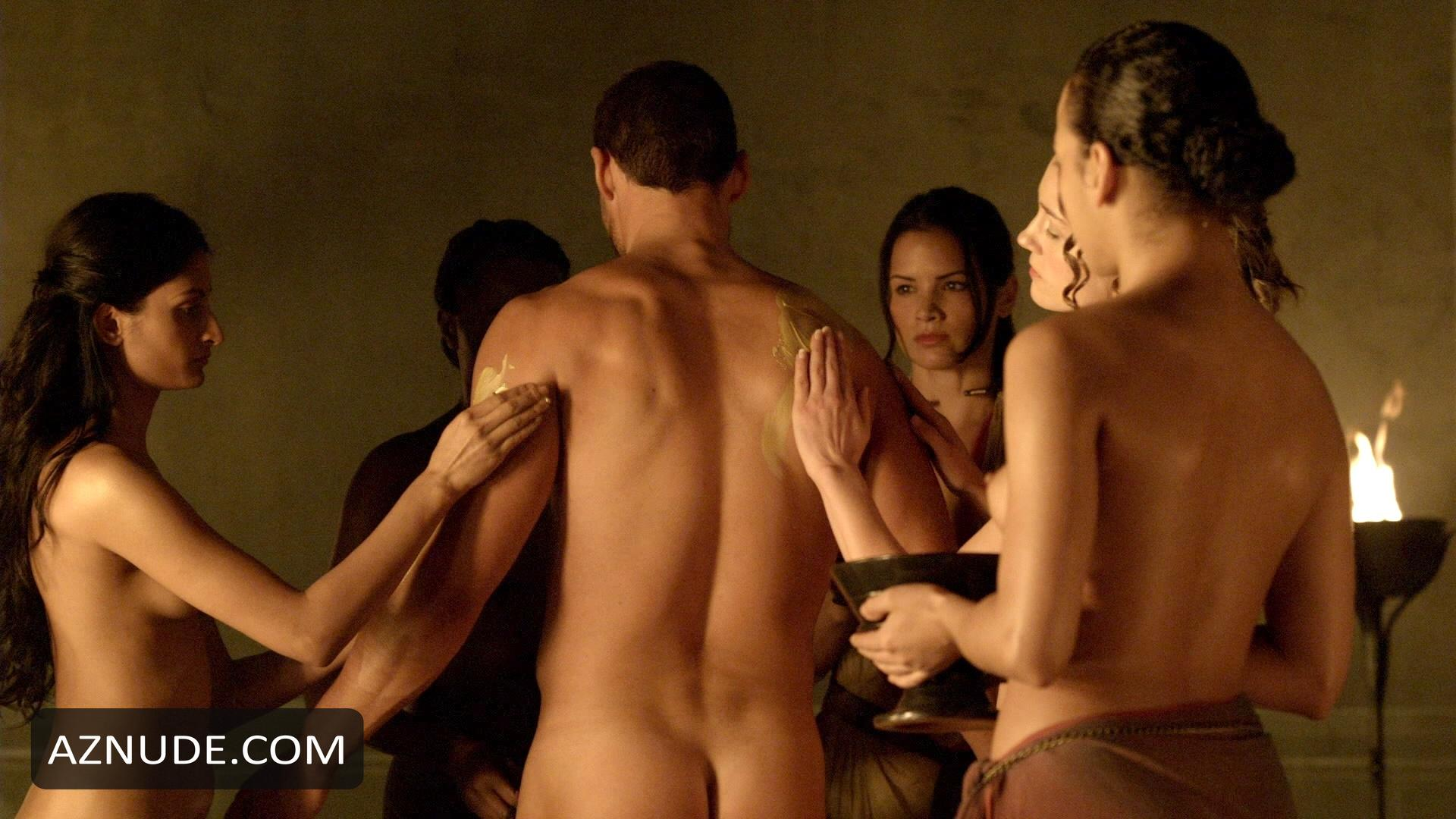 Erin Cummings Nude Sex In Spartacus Blood And Sand