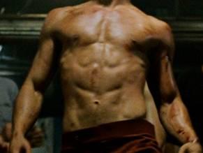 brad pitt naked in fight club