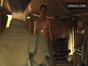 CHRISTOPHER ABBOTT NUDE/SEXY SCENE IN CATCH-22