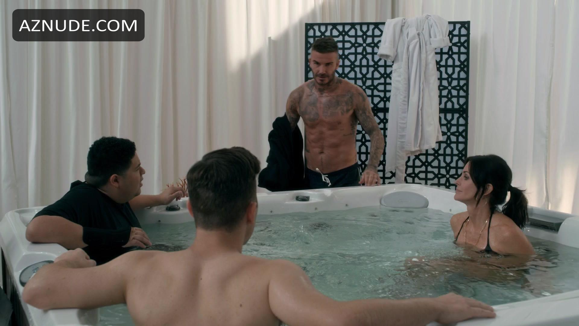 Topless David Beckham Naked Photos