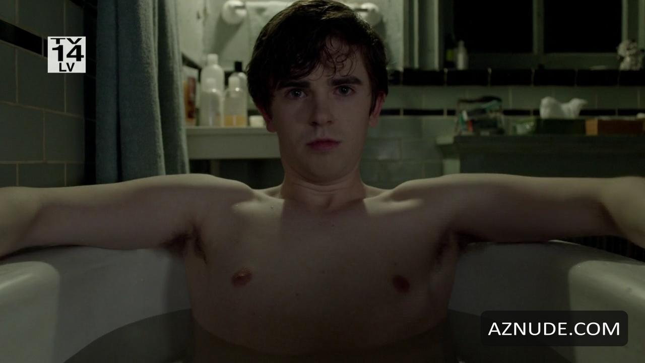 Freddie highmore naked