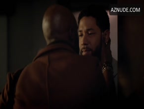 JUSSIE SMOLLETT NUDE/SEXY SCENE IN EMPIRE