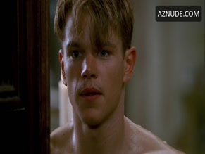 MATT DAMON in THE TALENTED MR. RIPLEY (1999)