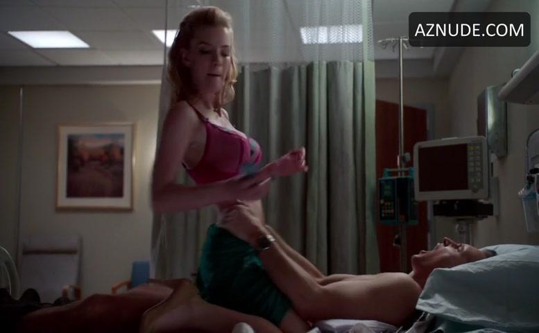 Nurse jackie nude scene