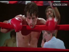 SYLVESTER STALLONE in ROCKY(1976)