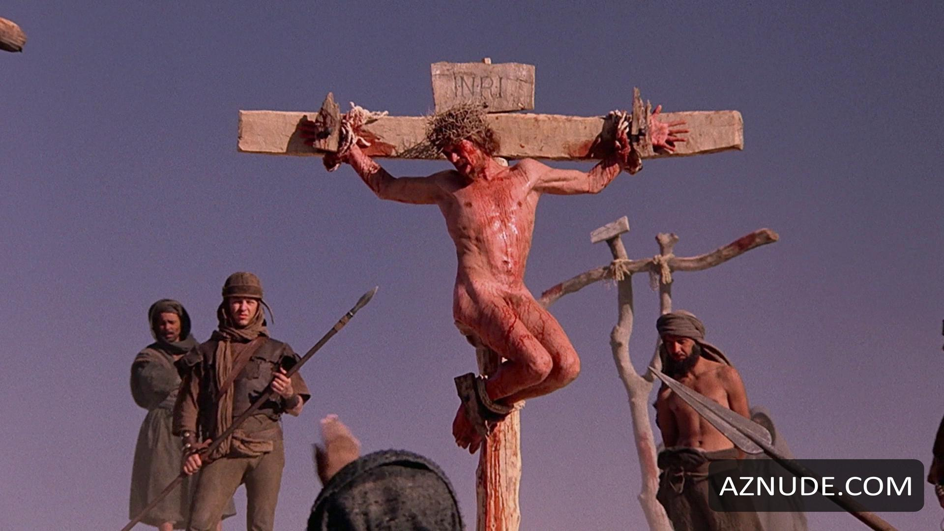 Christ was tortured and crucified buck naked